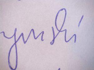 Analiza przebiegu badań porównawczych podpisu - zdjęcie