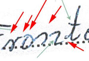 Potwierdzenie autentyczności podpisu - zdjęcie