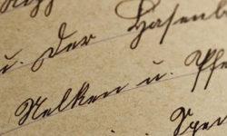 Badania wiekowości dokumentów – pisma ręcznego